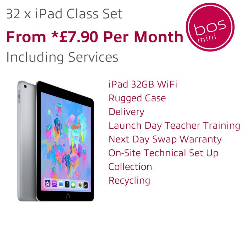 iPad class set subscription