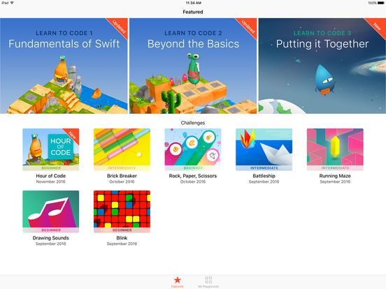 using swift playground in the classroom